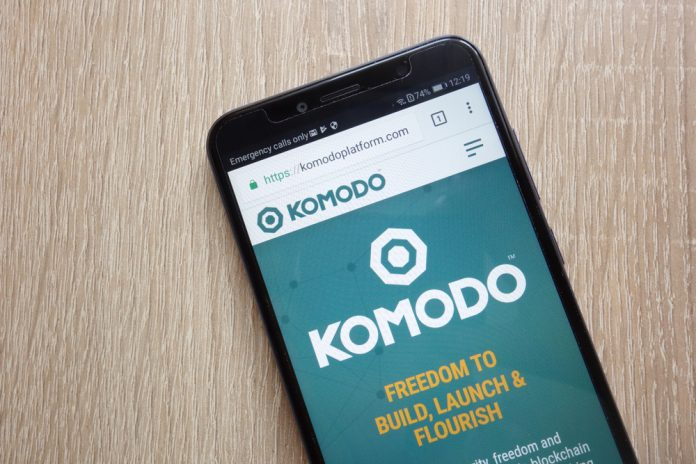 CryptoMode Komodo Price Rise