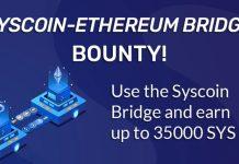 CryptoMode Syscoin Bridge Bounty