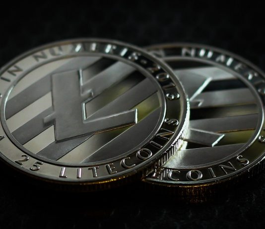 CryptoMode Litecoin Price Median Transfer Value