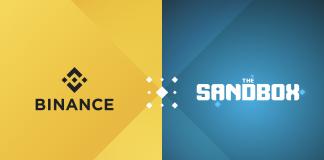 CryptoMode Binance and The Sandbox