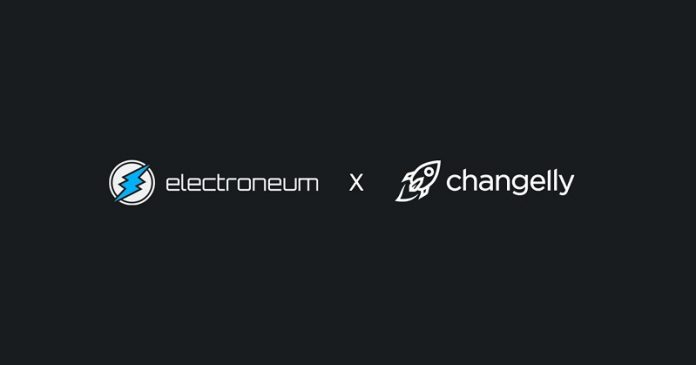CryptoMode Changelly Electroneum