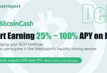 CryptoMode Matrixport Bitcoin Cash DeFi