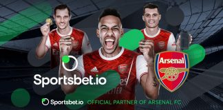 CryptoMode Arsenal FC Sportsbet.io