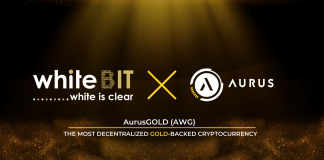 CryptoMode WhiteBIT AurusGOLD