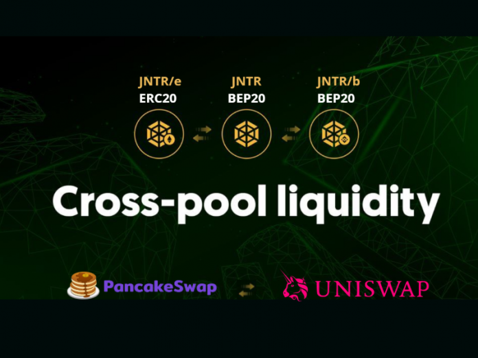 CryptoMode JNTR Bridge Uniswap pancake Swap Binance Smart Chain