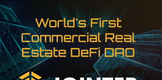 CryptoMode World's First DeFi DAO with DeFi Auctions Logo Jointer