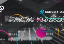 CryptoMode Cubebit 2.0 joining FBS 2020 Press Release