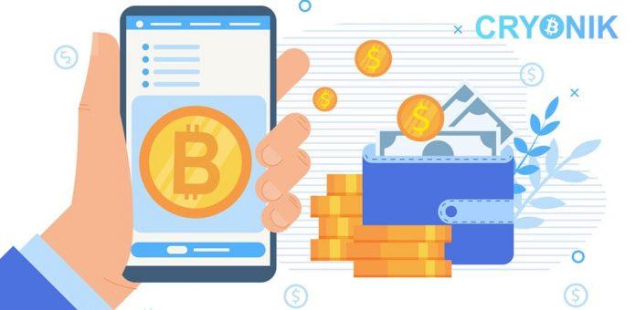 CryptoMode Cryonik Bitcoin Wallet
