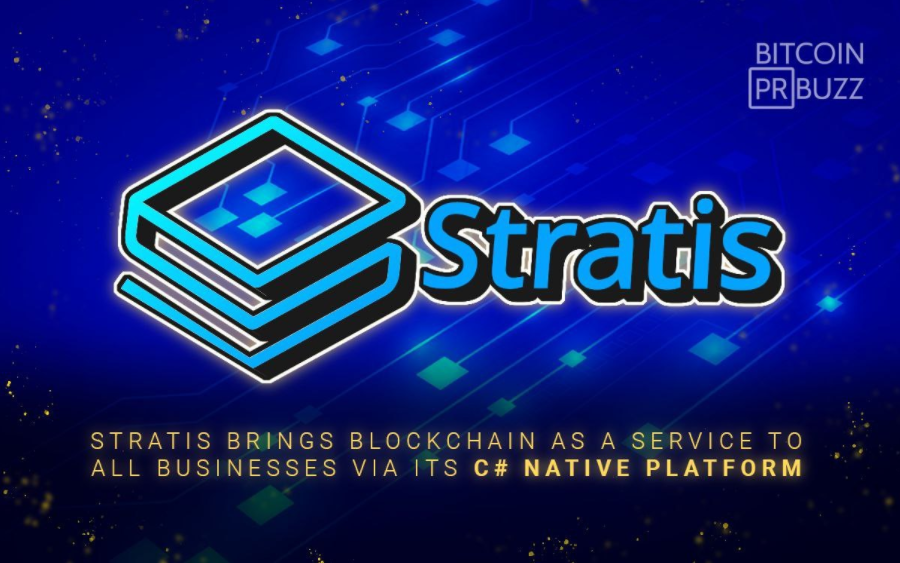Stratis Brings <bold>Blockchain</bold> as a Service to All Businesses via its C# Native Platform • CryptoMode