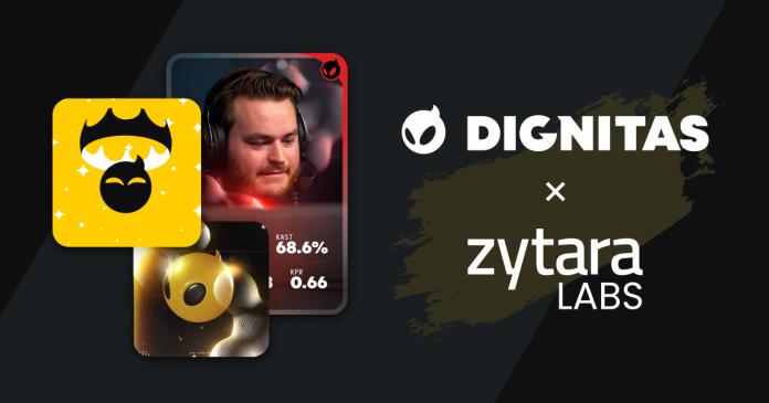 Dignitas and Zytara Labs NFT collaboration