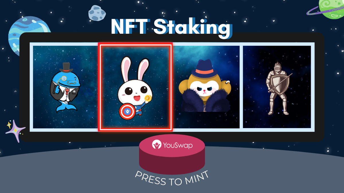 Collect NFTs and earn rewards! YouSwap NFT lock-up staking is now online! – CryptoMode
